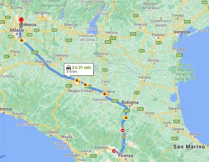 659 chilometri in un giorno con l'auto elettrica